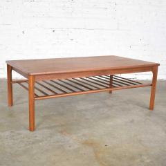 Mobelfabrikken Toften Vintage danish mid century modern coffee table in teak by mobelfabrikken toften - 1624689