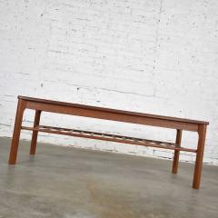 Mobelfabrikken Toften Vintage danish mid century modern coffee table in teak by mobelfabrikken toften - 1624719
