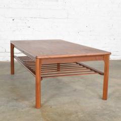 Mobelfabrikken Toften Vintage danish mid century modern coffee table in teak by mobelfabrikken toften - 1624721
