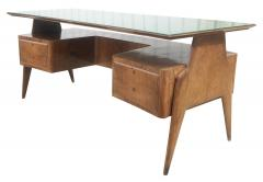 Mobilificio Dassi Large Executive Desk by Dassi Italy 1960s - 1390087