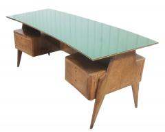 Mobilificio Dassi Large Executive Desk by Dassi Italy 1960s - 1390088
