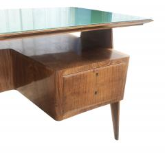 Mobilificio Dassi Large Executive Desk by Dassi Italy 1960s - 1390095
