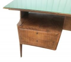 Mobilificio Dassi Large Executive Desk by Dassi Italy 1960s - 1390096