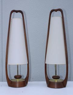 Modeline 1960s Mid Century Modern Table Lamps By Modeline - 1354194