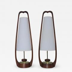 Modeline 1960s Mid Century Modern Table Lamps By Modeline - 1356109