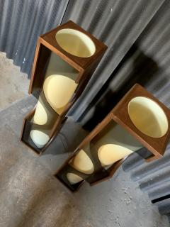 Modeline Modeline Monumental Mid Century Modern Lucite Lamps - 1524528