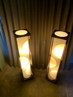 Modeline Modeline Monumental Mid Century Modern Lucite Lamps - 1524538