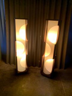 Modeline Modeline Monumental Mid Century Modern Lucite Lamps - 1524540