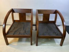 Modernage Furniture Company PAIR OF ART DECO D CHAIRS DESIGNED BY MODERNAGE - 1642220