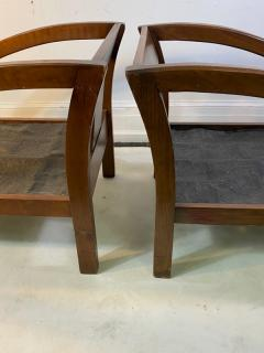 Modernage Furniture Company PAIR OF ART DECO D CHAIRS DESIGNED BY MODERNAGE - 1642223