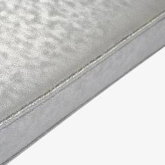 Montage Prism Bench in Sharkskin Motif Leather by Montage - 896109