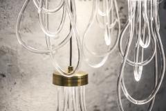 Morghen Studio Ensemble of Brass Light Pendants Cascade - 768698