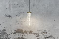 Morghen Studio Ensemble of Brass Light Pendants Cascade - 768699