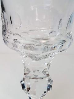 Moser Set of Six Large High End Crystal Goblets by Moser Glassworks - 1318550
