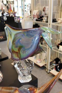 Murano Fantail Murano Glass Fish by Oscar Zanetti - 2137997