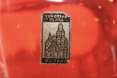 Murano Glass Sommerso 1950s Venetian Murano Glass Bowl - 1091447