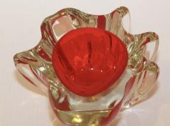 Murano Glass Sommerso 1950s Venetian Murano Glass Bowl - 1091450