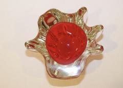 Murano Glass Sommerso 1950s Venetian Murano Glass Bowl - 1091451