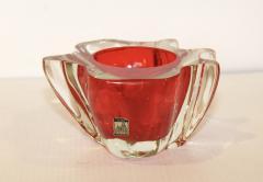 Murano Glass Sommerso 1950s Venetian Murano Glass Bowl - 1091452