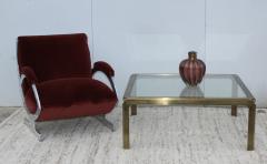 Murano Glass Sommerso Mid Century Modern Murano Glass Vase - 1259633