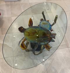 Murano Murano Glass Coffee Table with Turtles by Zanetti - 2138025