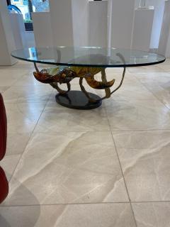 Murano Murano Glass Coffee Table with Turtles by Zanetti - 2138026