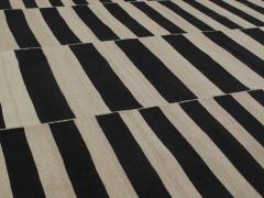 NASIRI Mid Century Modern Style Persian Stripe Flatweave Rug - 1367812