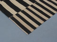 NASIRI Mid Century Modern Style Persian Stripe Flatweave Rug - 1367815