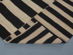 NASIRI Mid Century Modern Style Persian Stripe Flatweave Rug - 1367816