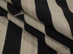 NASIRI Mid Century Modern Style Persian Stripe Flatweave Rug - 1367818