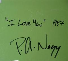 Nagy Peter Nagy I Love You Etched Magnesium - 1114075