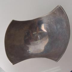 Nambe Modern Sculptural Aluminum Bowl Nambe Era - 1874697