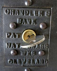 National Brass Works Company Chandlers Bank Mechanical Bank American circa 1900 - 965878