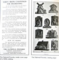 National Foundry Company Cape Cod Windmill Doorstop American Circa 1920s - 683898