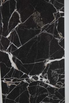 Nessen Studios Nessen Studio Marble Table Lamps in Black Marble - 1370120