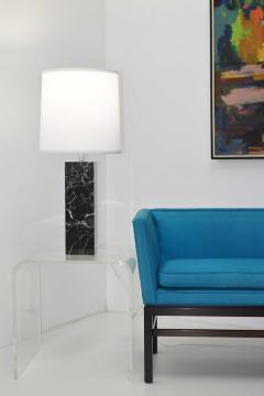 Nessen Studios Nessen Studio Marble Table Lamps in Black Marble - 1370121
