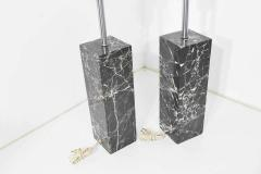 Nessen Studios Pair of Marble Table Lamps by Nessen Studio - 1274863