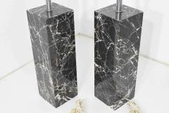 Nessen Studios Pair of Marble Table Lamps by Nessen Studio - 1274864