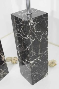 Nessen Studios Pair of Marble Table Lamps by Nessen Studio - 1274866
