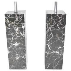 Nessen Studios Pair of Marble Table Lamps by Nessen Studio - 1274868