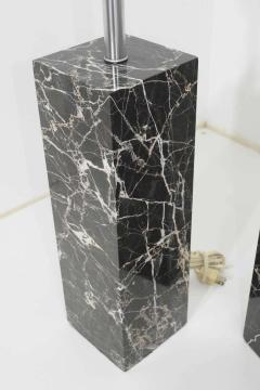 Nessen Studios Pair of Marble Table Lamps by Nessen Studio - 1274870