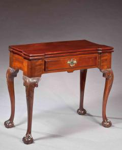 Genial Nicholas Bernard Martin Jugiez The George C Curtis Carved Block End  Chippendale Card Table   129545