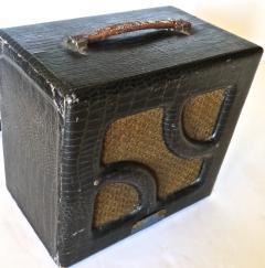 Nioma Company Hawaiian Lap Top Guitar by Nioma Circa 1937 with Amp by Magnatone Circa 1947 - 848847