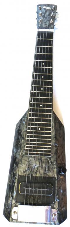 Nioma Company Hawaiian Lap Top Guitar by Nioma Circa 1937 with Amp by Magnatone Circa 1947 - 848851