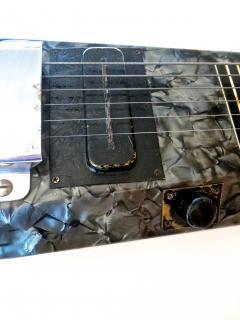 Nioma Company Hawaiian Lap Top Guitar by Nioma Circa 1937 with Amp by Magnatone Circa 1947 - 848854