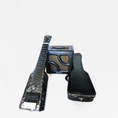 Nioma Company Hawaiian Lap Top Guitar by Nioma Circa 1937 with Amp by Magnatone Circa 1947 - 850245