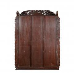 Noguchi of Yokohama A superb Meiji period hard wood display cabinet by Noguchi of Yokahama - 1718919