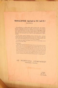 Nordiska Kompaniet A Swedish Fruitwood Console Produced for NK Nordiska Kompaniet Circa 1944 - 778819