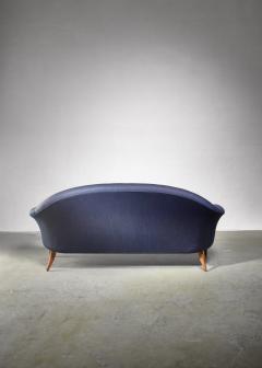 Nordiska Kompaniet Kerstin Holmquist blue 3 seater Paradiset sofa - 1376568
