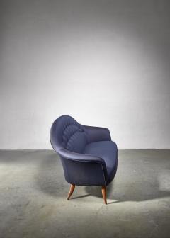 Nordiska Kompaniet Kerstin Holmquist blue 3 seater Paradiset sofa - 1376570